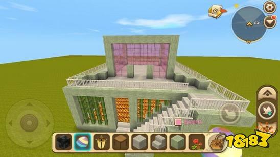 迷你世界精致小別墅建造教程 怎么搭建好看的房子
