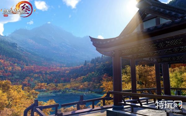 《剑网3》首个还原国家5a级风景区地图——九寨沟将于7月