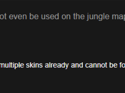 Reddit热议:特定地图才有的皮肤可真蠢