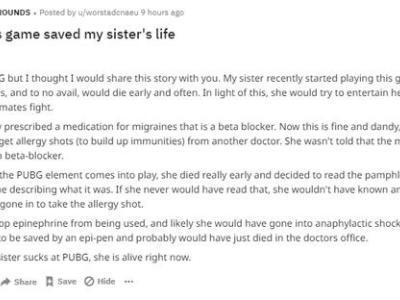 因吃鸡菜躲过生命危险 网友分享真实故事