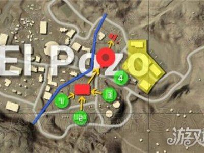 绝地求生EP城怎么跳伞最好 最佳跳伞位置