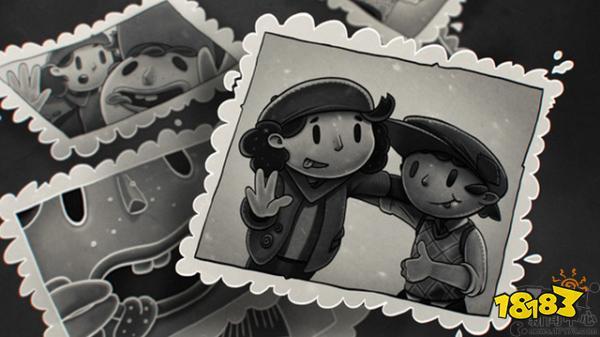 黑白风横版冒险新作《我的二人回忆》抢先登陆steam