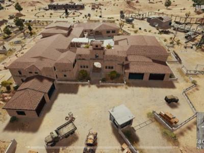 绝地求生沙漠地图豪宅战术打法解析