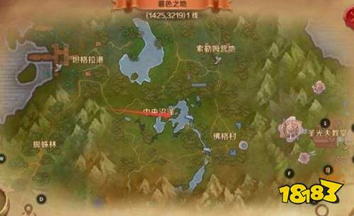 万王之王3d塞外骨地风景攻略:塞外骨地风景点位置汇总