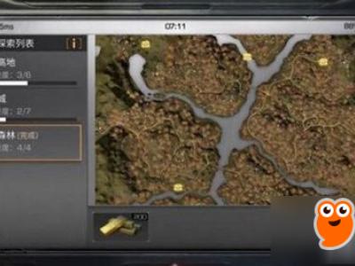 《明日之后》秋日森林4个箱子在哪里 四个资源点宝箱分布位置