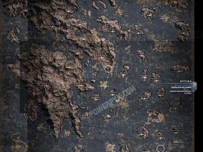 刺客信条奥德赛全地图一览 奥德赛全游戏地图介绍