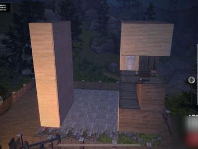 《明日之后》簡約大氣優雅 現代設計感柜子樓