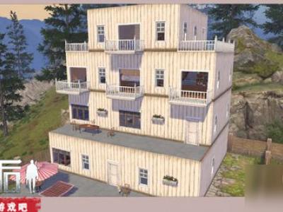 《明日之后》怎么設計實用又好看還簡單的房子 抽屜狀簡約風小樓房設計構圖