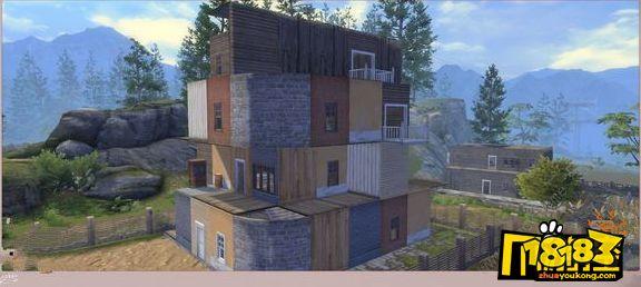 明日之后4级庄园豪华别墅构图_4级庄园平民别墅构图一览图片