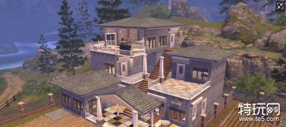 欧式建筑 游戏原画