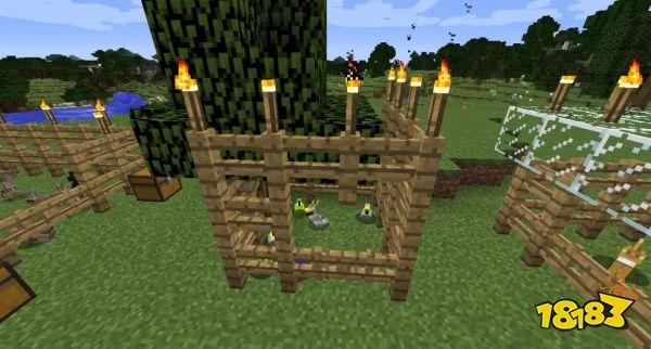 我的世界怎么建造养殖场 教你如何驯服动物