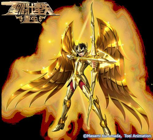 黄金射手 《圣斗士星矢:重生》神圣射手座·艾俄洛斯解析