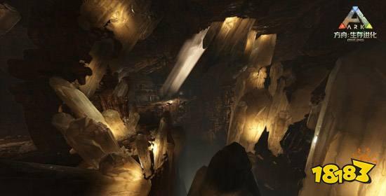 方舟生存进化沙漠矿洞神器