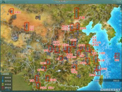 《剑网3》摸奇遇宠物路线汇总 宠物大地图分布一
