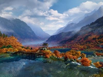 《剑网3》1:1还原九寨沟风景区 可免费入场