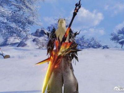 剑网3重制版苍云五阶95小橙武实装外观展示