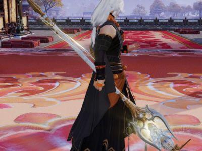 剑网3重制版少林五阶95小橙武实装外观展示
