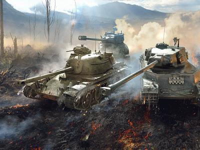 F系活动进行中 《坦克世界闪击战》全新礼包上架