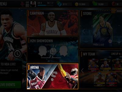 PVP助力 《NBA LIVE》手游迎战新赛季