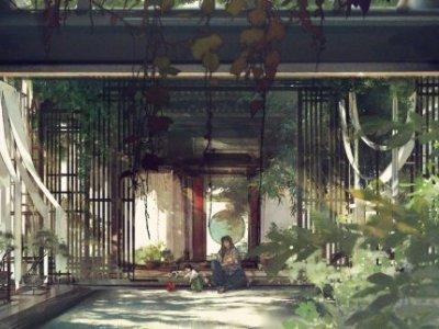 剑网3优秀同人欣赏推荐 庭院深深微风拂面