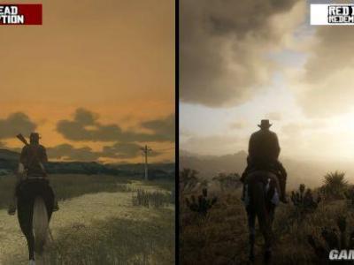 《荒野大镖客2》画面VS初代 8年的进化天翻地覆