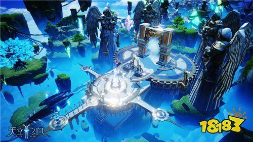 史诗级魔幻手游《天空之门》首次测试即将开启