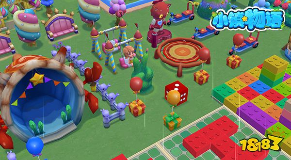 3D全景模拟云雨《小镇物语》在海天相连的天空之境自由穿梭