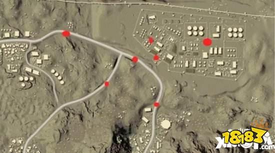 刺激战场沙漠军事基地怎么打 沙漠军事基地跑图路线火速围观吧
