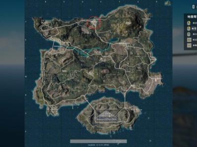 绝地求生海岛地图哪里肥 绝地求生海岛吃鸡