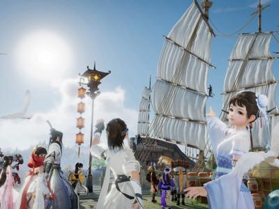 剑网3蓬莱预热活动25日开启 东海