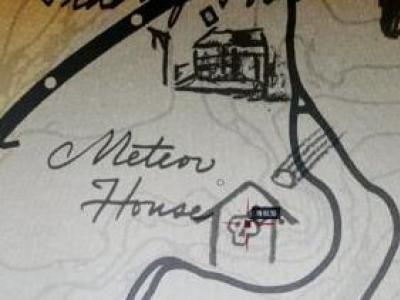 荒野大镖客2陨石之屋彩蛋地图位置