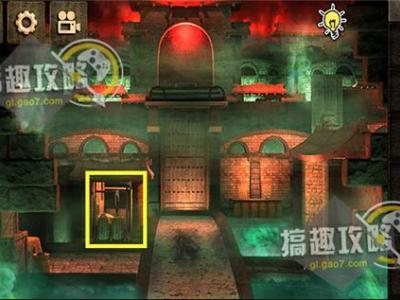密室逃脱逃出阴森神庙攻略
