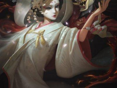 《第五人格》红蝶白无垢欣赏 红蝶白无垢原画欣赏