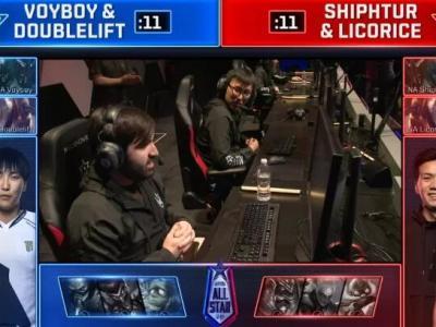 LOL2018全明星赛2v2第二日赛况:Doubleboy胜Shiporice