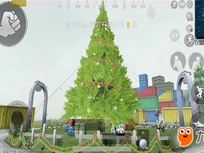 《绝地求生刺激战场》圣诞树在哪里 圣诞模式圣诞树位置一览