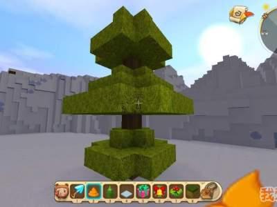 迷你世界圣诞树怎么做?圣诞树建造攻略
