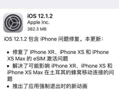 iOS12.1.2更新了什么内容 iOS12月18日更新内容介绍