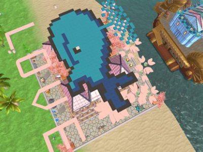 创造与魔法鲸鱼小屋设计图