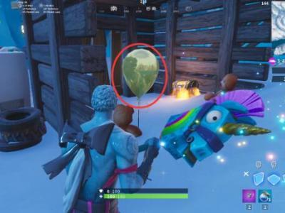 堡壘之夜金氣球在什么地方 堡壘之夜戳10個金氣球任務攻略