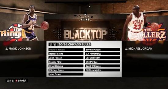 nba魔术师约翰逊 《NBA 2K19》魔术师约翰逊与乔丹能力对比 端游攻略