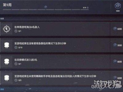 绝地求生维寒迪通行证第九周任务玩法介绍