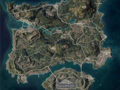 绝地求生新版艾伦格海岛图一览 老版地图更新