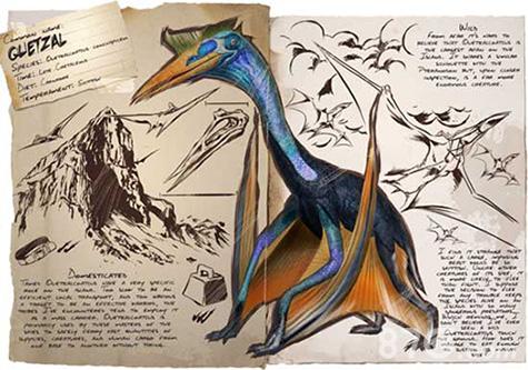 方舟生存进化手机版风神翼龙驯服技巧,带好装备一步一步教你抓龙