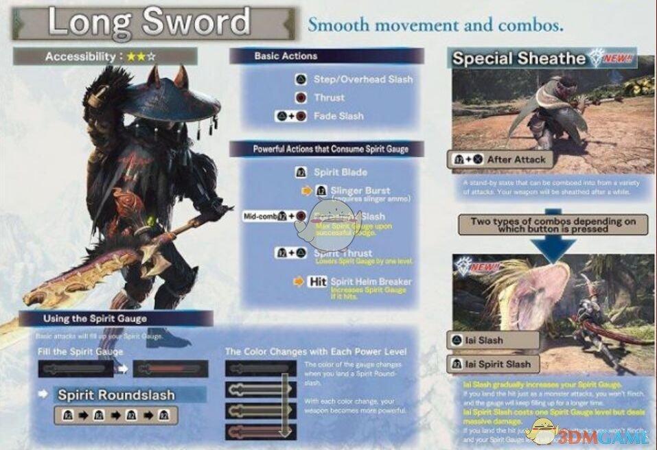 《怪物猎人世界冰原世纪》大剑新动作操作教学攻略