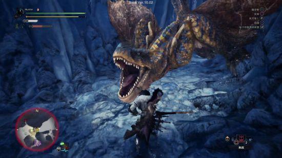 《怪物猎人:世界》轰龙全武器打法演示