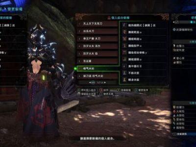 《怪物猎人:世界》各武器配装与伤害测试
