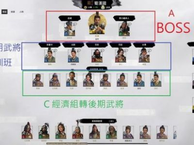 《三国:全面战争》武将选择及加点推荐