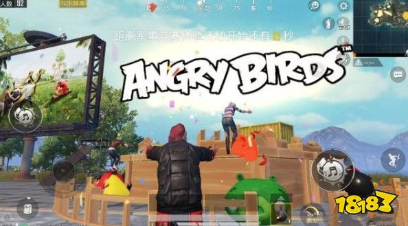 和平精英angry birds什么意思?炸毁猪房angry birds彩
