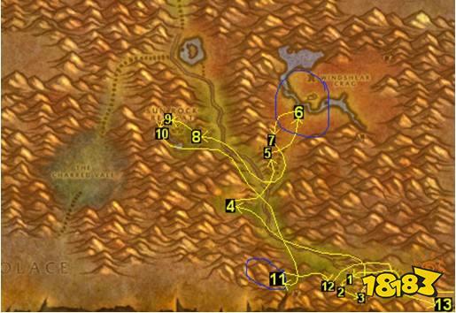 21石爪山脉升级 任务路线详解