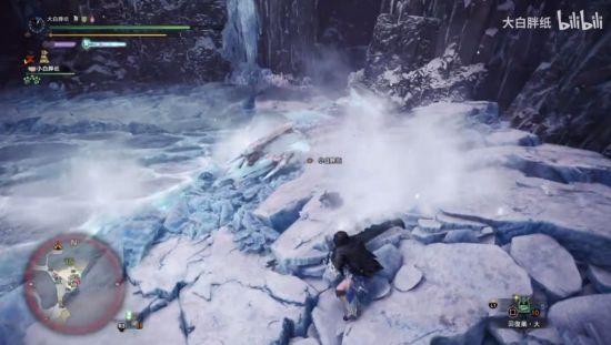 《怪物猎人:世界》冰原冰咒龙大剑击杀视频
